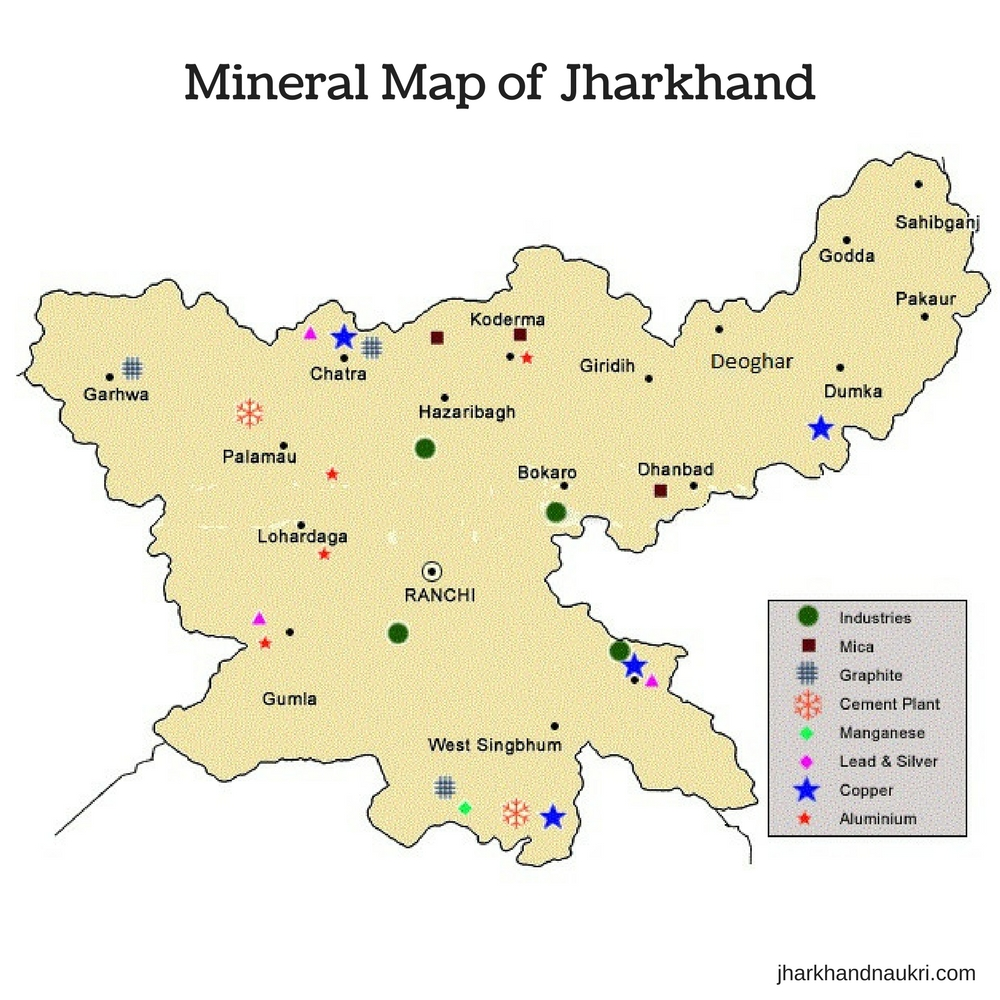 Jharkhand Map  Population  Economy  Minerals  Culture  Rivers